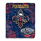 New Orleans Pelicans Super-Plush Raschel Throw Blanket