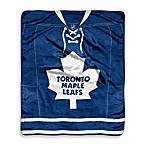 NHL Super-Plush Raschel Throw Blanket