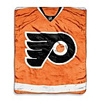 Philadelphia Flyers Super-Plush Raschel Throw Blanket