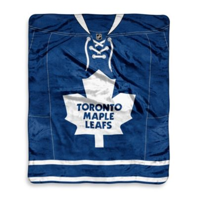Toronto Maple Leafs Super-Plush Raschel Throw Blanket