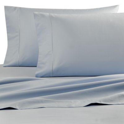 Wamsutta® Finest Sateen 725-Thread-Count Twin Flat Sheet in Light Blue