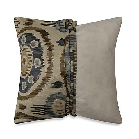 Myop Throw Pillow Covers : MYOP Cali Square Throw Pillow Cover in Denim - Bed Bath & Beyond