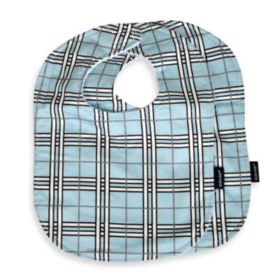 Balboa Baby® 2-Pack Bib Set in Blue Plaid