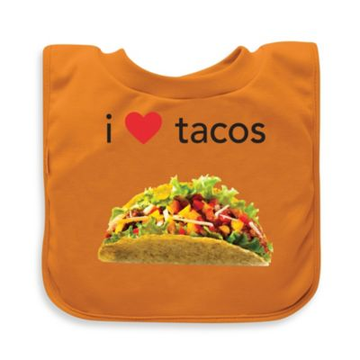 green sprouts® by i play.® Taco Favorite Foods Absorbent Bib