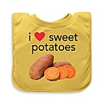 green sprouts® by i play.® Sweet Potato Favorite Foods Absorbent Bib