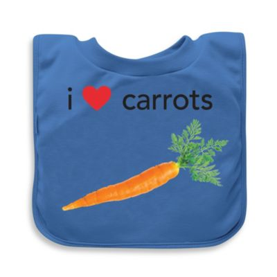 green sprouts® by i play.® Carrots Favorite Food Absorbent Bib