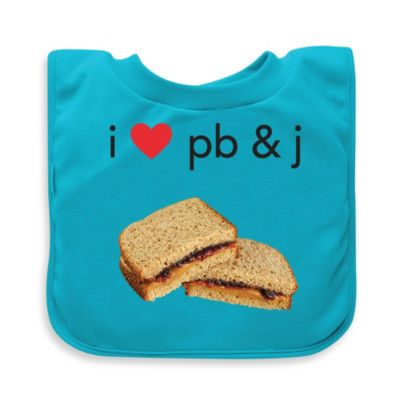 green sprouts® by i play.® PB & J Favorite Food Absorbent Bib
