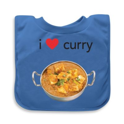 green sprouts® by i play.® Blue Curry Favorite Food Absorbent Bib