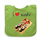 green sprouts® by i play.® Sushi Favorite Foods Absorbent Bib