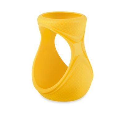 Joovy® Boob™ 8 oz. Silicone Sleeve for Boob Glass Bottle in Yellow