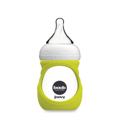 Joovy® Boob 5-Ounce Glass Bottle and Silicone Sleeve in Green