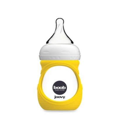 Joovy® Boob 5-Ounce Glass Bottle and Silicone Sleeve in Yellow