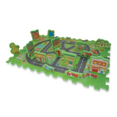 Sesame Street Road Way Foam Puzzle