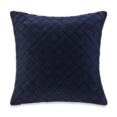 Harbor House Areca 18-Inch Square Toss Pillow in Blue