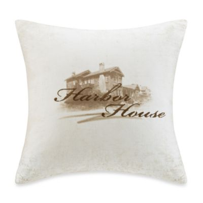 Harbor House™ Areca 18-Inch Square Toss Pillow in Ivory