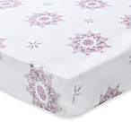 aden + anais® 100% Cotton Muslin Crib Sheet in For the Birds/Medallion