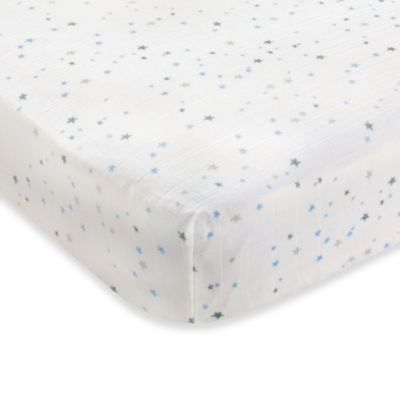 aden + anais® 100% Cotton Muslin Crib Sheet in Night Sky