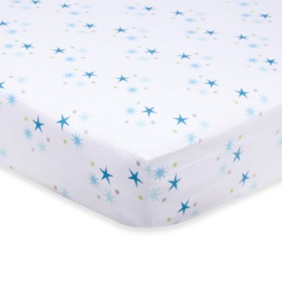 aden + anais® Organic Cotton Muslin Crib Sheet in Starstruck