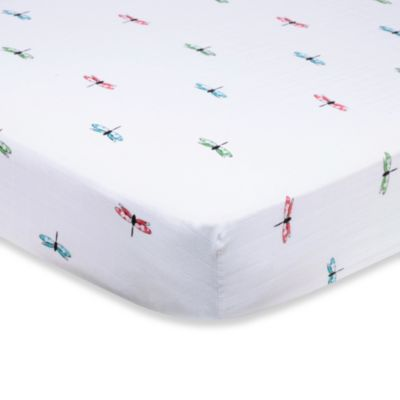 aden + anais® Organic Cotton Muslin Crib Sheet in Snuggle Bug