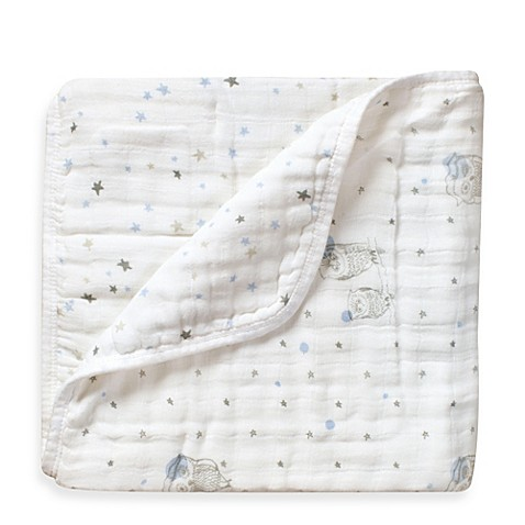 Baby Blankets > aden + anais® 100% Cotton Muslin Dream Blanket™ in Night Sky
