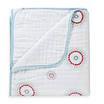 aden + anais® 100% Cotton Muslin Dream Blanket™ in Liam the Brave/Medallion