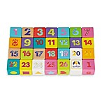 Boikido 28-Piece Wooden ABC Cubes