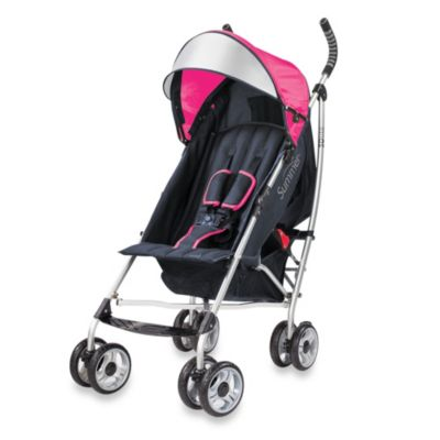 Summer Infant® 3D Lite™ Convenience Stroller in Pink/Navy