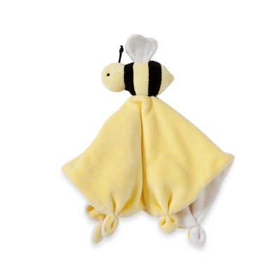 Burt's Bees Baby® Plush Bee Lovey 100% Organic Cotton Blanket in Yellow