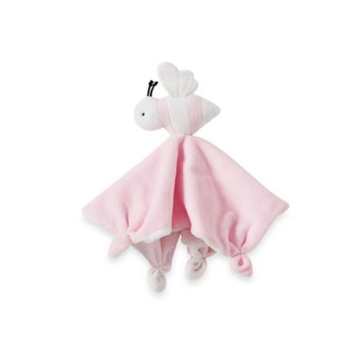 Burt's Bees Baby™ Plush Bee Lovey 100% Organic Cotton Blanket in Pink