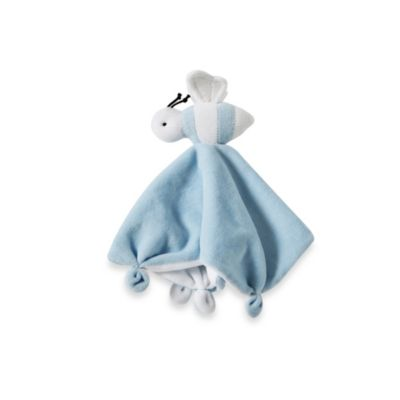 Burt's Bees Baby® Plush Bee Lovey 100% Organic Cotton Blanket in Blue