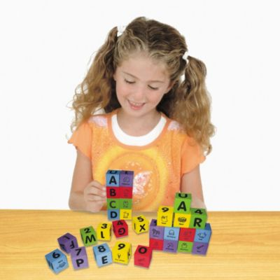 Alphabet and Number Foam Blocks