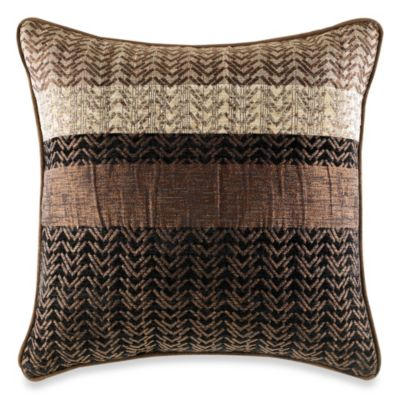 Croscill® Sahara Reversible Square Toss Pillow