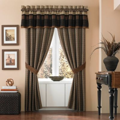 Croscill® Sahara Tailored Window Valance
