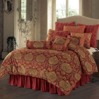Lorenza 4-Piece Queen Comforter Set