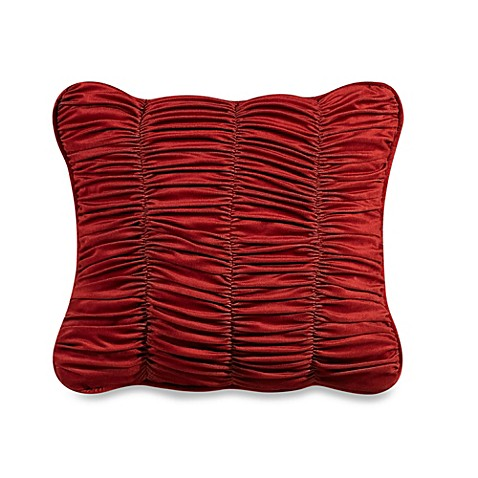 HiEnd Accents Lorenza Sheared Velvet 18-Inch Square Throw Pillow