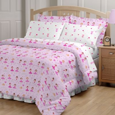 Ballerina 6-8 Piece Comforter and Sheet Set