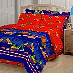 Just 4 Kids Builders 6-8 Piece Comforter and Sheet Set