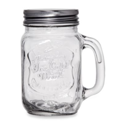 "Home Essentials Del Sol ""Ice Cold"" Mason Jars (Set of 4)"
