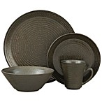 Sango® Comet 16-Piece Dinnerware Set in Black