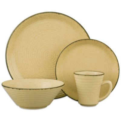 Sango® Comet 16-Piece Dinnerware Set in Cream