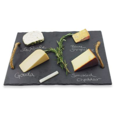 Vintage & Vine Slate Cheese Board