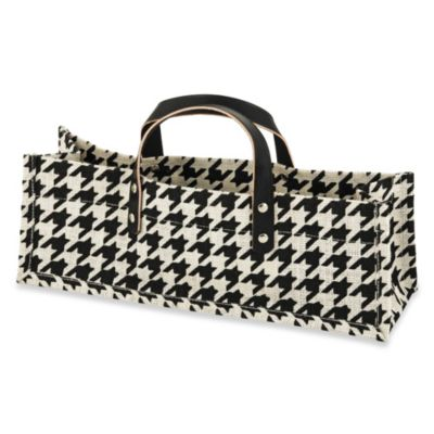 true™ Houndstooth Wine Purse/Tote
