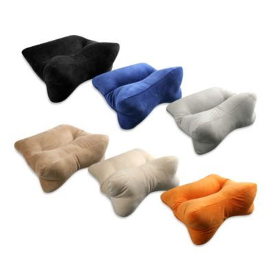 Original Bones™ OrthoBone® Pillow in Orange Velour