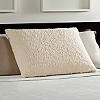 Comfort Revolution® Memory Foam Bed Pillow with Sherpa Cover