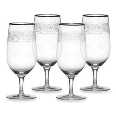 Mikasa® Parchment Platinum 17-Ounce Beverage (Set of 4)