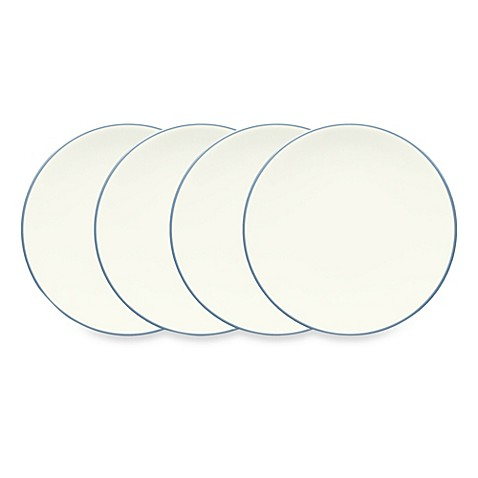 Noritake® Colorwave Mini Plates in Ice (Set of 4)