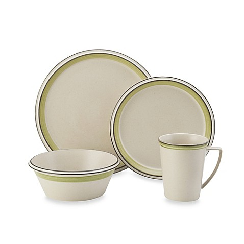 Mikasa concord banded green dinnerware www for P s furniture concord vt