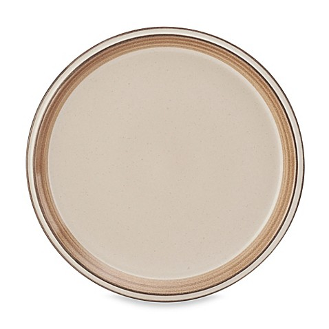 Mikasa concord banded tan dinner plate for P s furniture concord vt