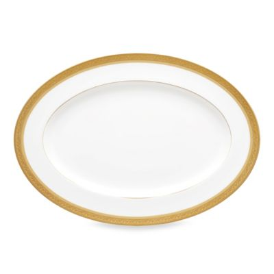 Noritake Summit Gold 16-Inch Oval Platter