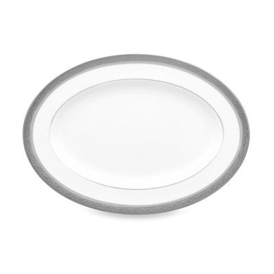 Noritake® Summit Platinum 12-Inch Oval Platter